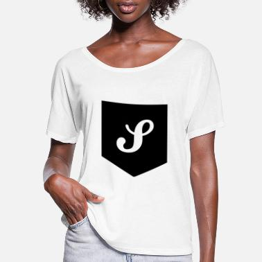 Monogram Monogram Pocket - Women's Flowy T-Shirt