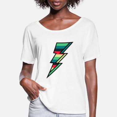 Relampago Thunder bolt - Flash - Women's Flowy T-Shirt