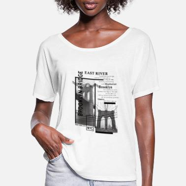 Brooklyn Bridge Brooklyn Bridge - Women's Flowy T-Shirt