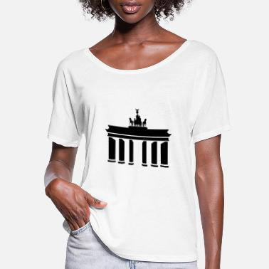 Gate Brandenburg Gate - Women's Flowy T-Shirt