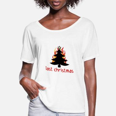 Witty last christmas - Women's Flowy T-Shirt