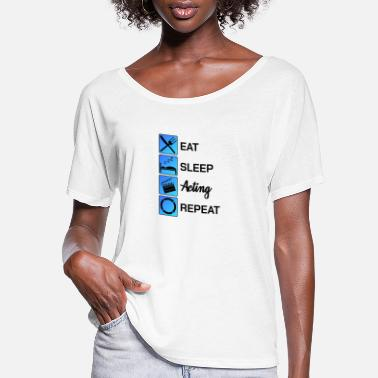 Performance Acting Actor Audition Gift - Women's Flowy T-Shirt