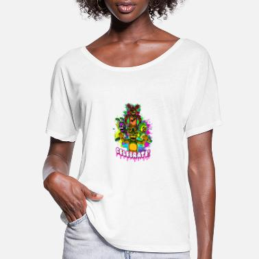Celebrate Celebrate - Women's Flowy T-Shirt