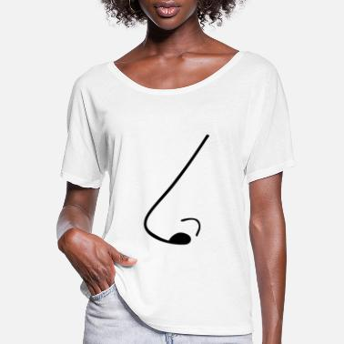 Nose Nose - Women's Flowy T-Shirt