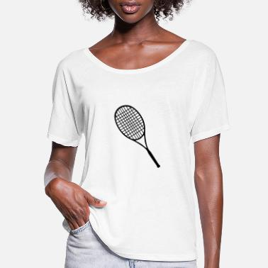 Racket Tennis racket - Women's Flowy T-Shirt