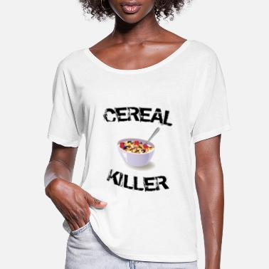 Cereal Cereal Killer - Women's Flowy T-Shirt