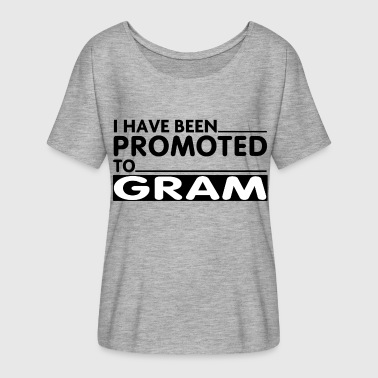 PROMOTED TO GRAM - Women's Flowy T-Shirt