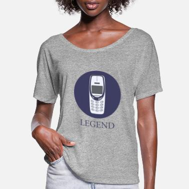 Mobile Phone mobile phone legend - Women's Flowy T-Shirt