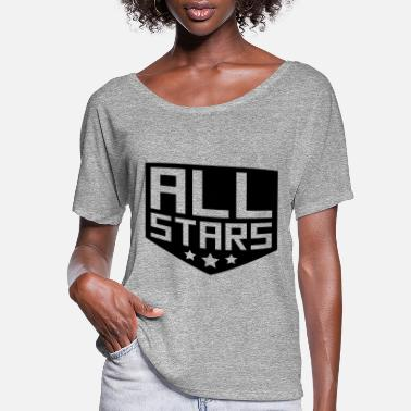 Allstar Allstars rank badge - Women's Flowy T-Shirt