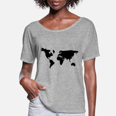 Geographic geographic - Women's Flowy T-Shirt