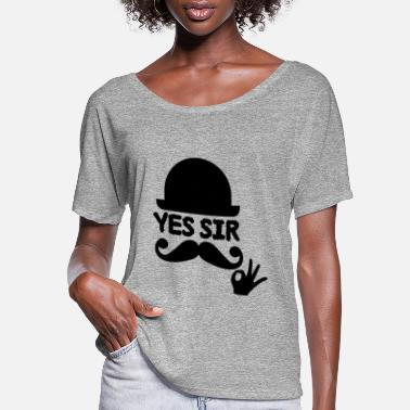 Sir sir - Women's Flowy T-Shirt