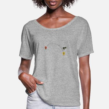 Fly-insect Air Travel Travel Planning Fly - Women's Flowy T-Shirt