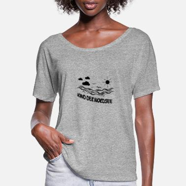 North Sea Child of the North Sea - Women's Flowy T-Shirt
