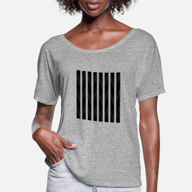 Strips Strips - Women's Flowy T-Shirt