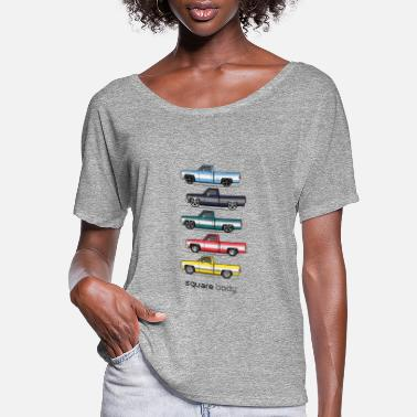 Square 81 87 square bodies - Women's Flowy T-Shirt
