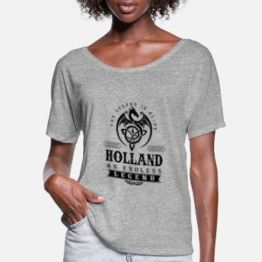 Holland HOLLAND - Women's Flowy T-Shirt