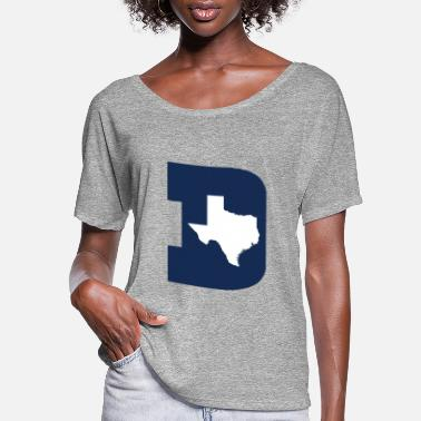 Dallas dallas - Women's Flowy T-Shirt