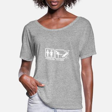 Solve solved - Women's Flowy T-Shirt