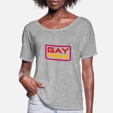 Csd gay pride (v2) - Women's Flowy T-Shirt
