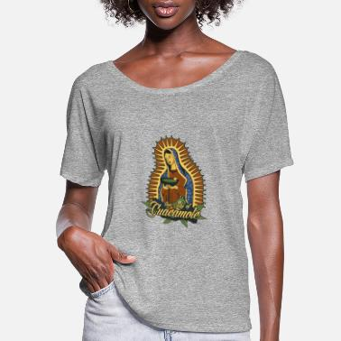 Our Lady Church Our Lady of Guacamole - Women's Flowy T-Shirt