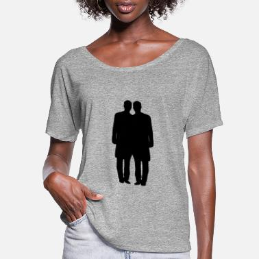 Gay Marriage Gay couple marriage - Women's Flowy T-Shirt
