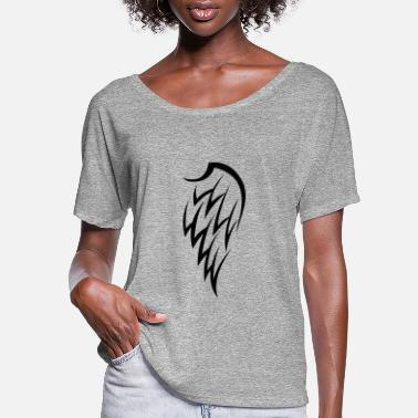 Right Wing bully right wings - Women's Flowy T-Shirt