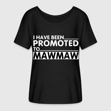 Coolest Mawmaw PROMOTED TO MAWMAW - Women's Flowy T-Shirt