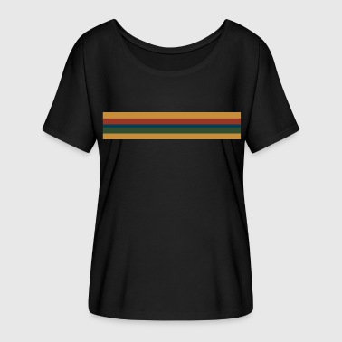 13th Doctor Stripe - Women's Flowy T-Shirt