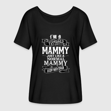 TATTOOED MAMMY - Women's Flowy T-Shirt