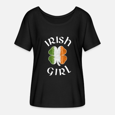 Girl Irish IRISH GIRL - Women's Flowy T-Shirt