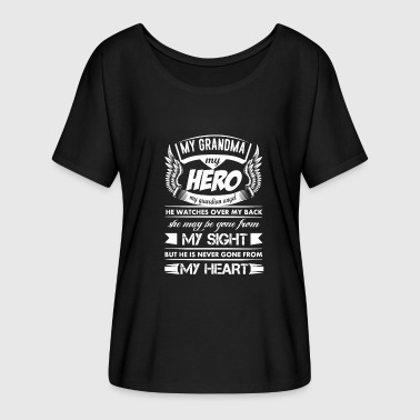 My Hero My Grandma - Women's Flowy T-Shirt