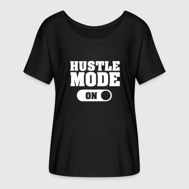 Hustle Mode Hustle Mode (On) - Women's Flowy T-Shirt