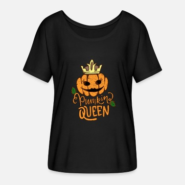Pumpkin Pumpkin Queen - Women's Flowy T-Shirt