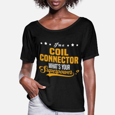 Connector Coil Connector - Women's Flowy T-Shirt