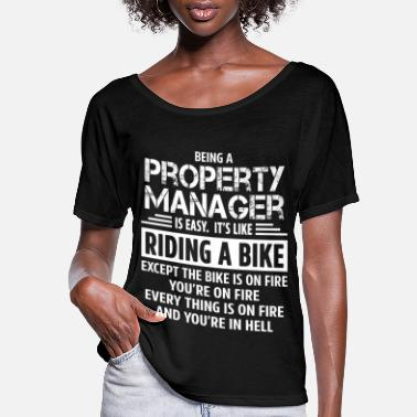 Manager Property Manager - Women's Flowy T-Shirt