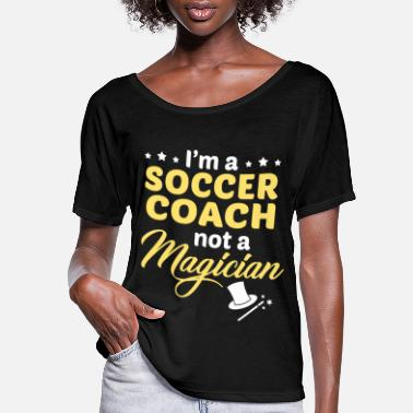 Coach Soccer Coach - Women's Flowy T-Shirt