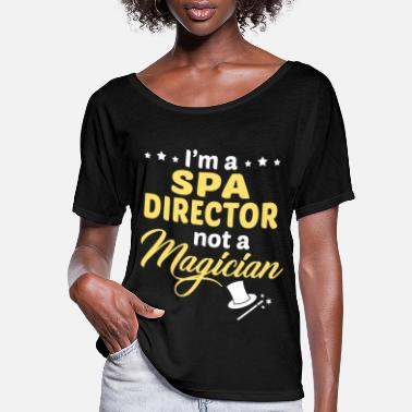 Spa Spa Director - Women's Flowy T-Shirt