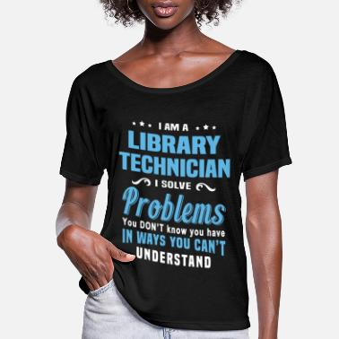 Library Library Technician - Women's Flowy T-Shirt