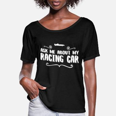 Transport RACING CAR DRIVER - Women's Flowy T-Shirt