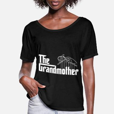 Grandmother The grandmother - Women's Flowy T-Shirt