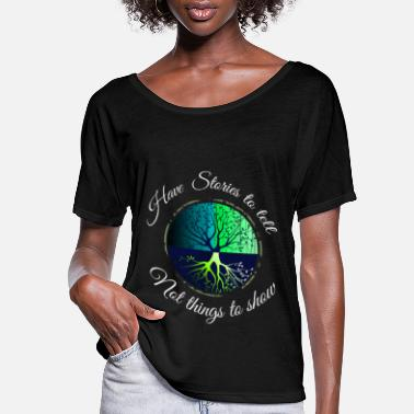 Bug Backpacking World Travel Adventure Travel Bug - Women's Flowy T-Shirt