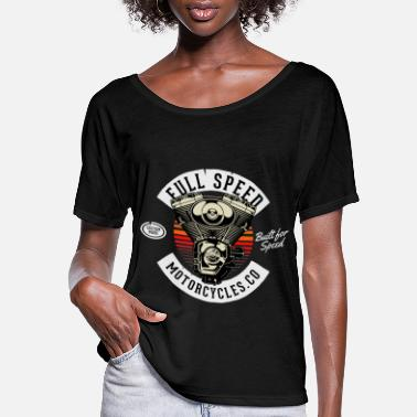 Chopper Full Speed Motorcycles - Women's Flowy T-Shirt