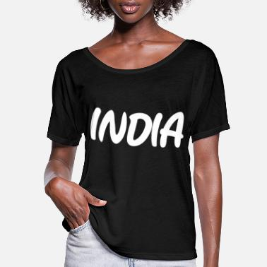 India Ink INDIA - Women's Flowy T-Shirt