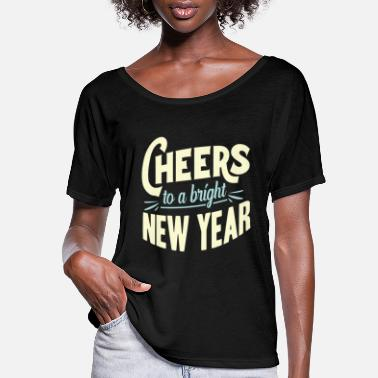 New Year New Year New Year's Eve - Women's Flowy T-Shirt