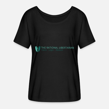 Milton The Rational Libertarian - Milton Friedman - Women's Flowy T-Shirt