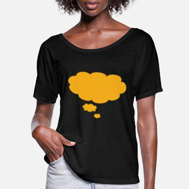 Thought Bubble Thought Bubble - Women's Flowy T-Shirt