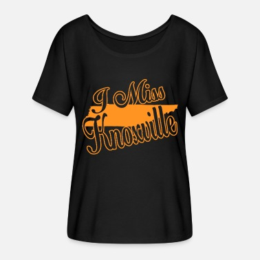 Knoxville Knoxville - i miss knoxville - Women's Flowy T-Shirt