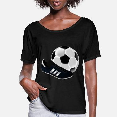 Football Cleats Soccer Cleats - Women's Flowy T-Shirt