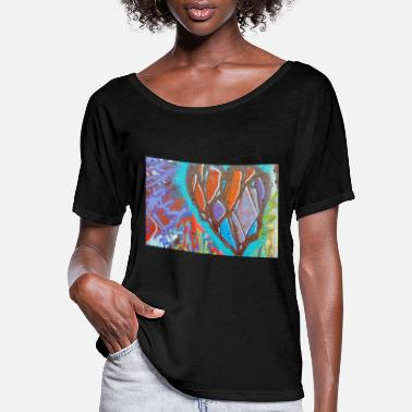 Graffiti6 - Women's Flowy T-Shirt