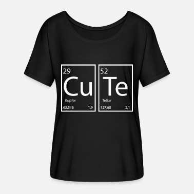 Chemical Cute slogan chemical elements - Women's Flowy T-Shirt